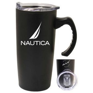 17 Oz. Stainless Steel Travel Mug w/ Slide Lid