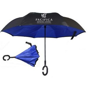 Reverse Open/close or 2 sided Umbrella