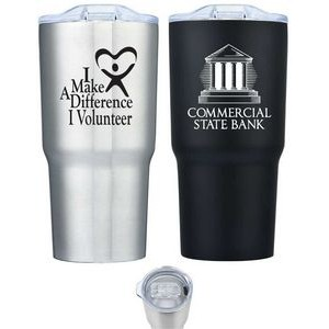 20 Oz. Seamless Exterior Stainless Steel Vacuum Insulated Tumbler
