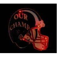 Football Helmet / Our Champ Flash Lapel Pin