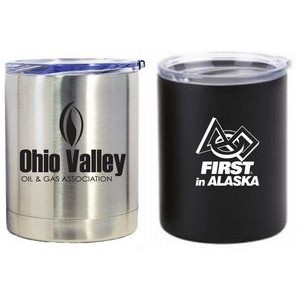 10 Oz. Double Wall Stainless Steel Vacuum Insulated Tumbler