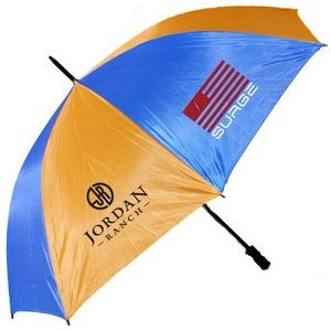 "2 Tone Golf Umbrella - Orange/ Blue (58"" Arc)"