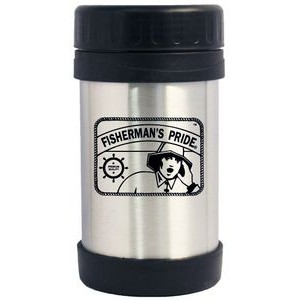 16 Oz. Stainless Steel Soup Jar/ Double Wall Vacuum Insulated